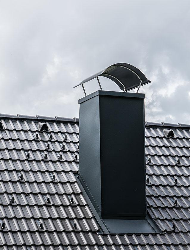 kamin muenchen dachdecker 03 - Kamin / Schornstein in München